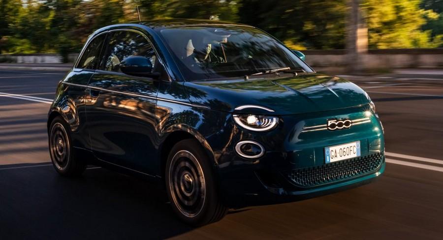 Το νέο ηλεκτρικό Fiat 500