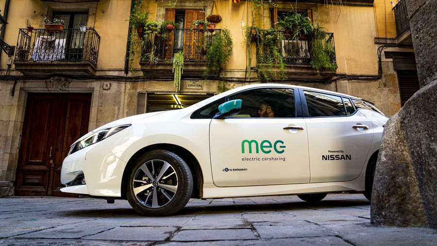 H υπηρεσία MEC electric carharing