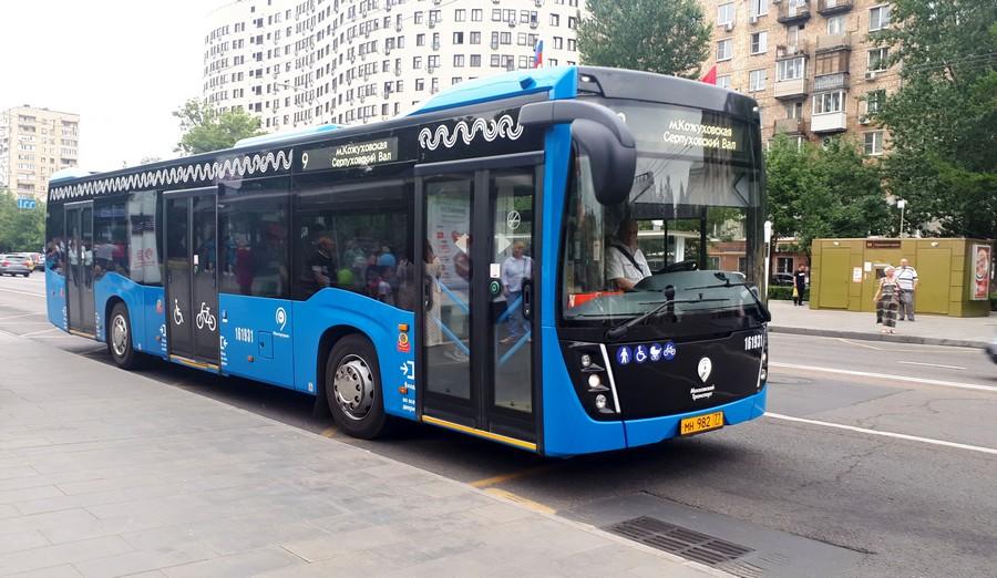 Ηλεκτρικό λεωφορείο στη Μόσχα