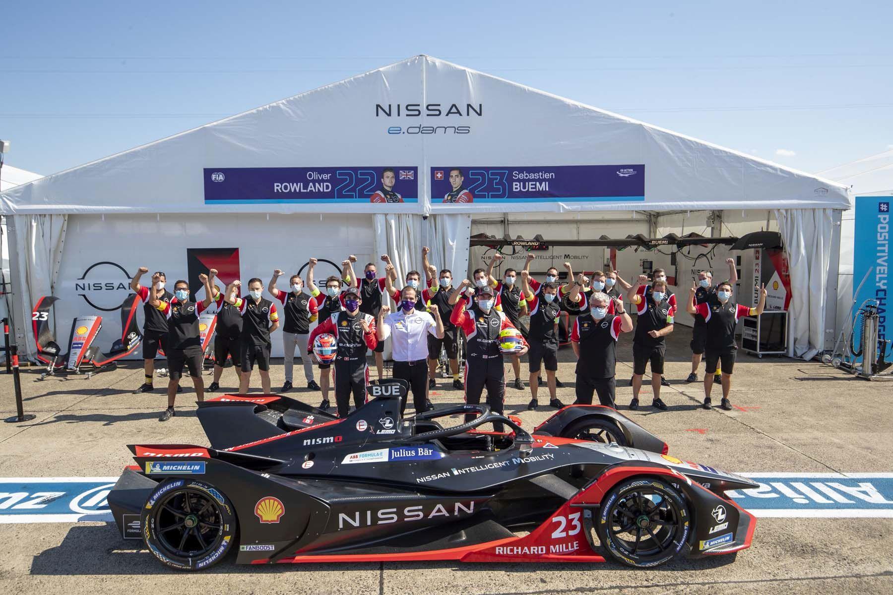 H ομάδα της Nisssan στην Formula E