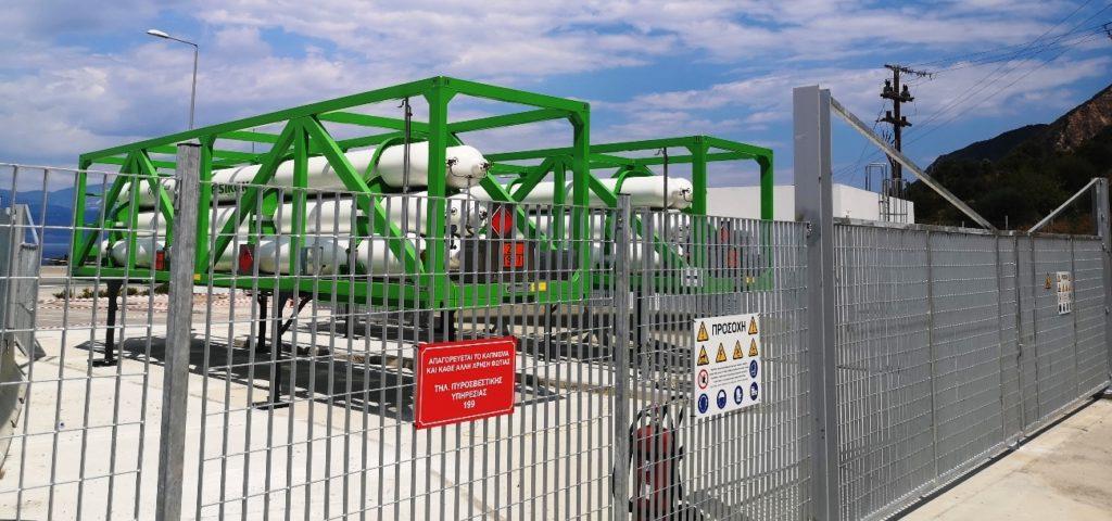 Σταθμός φυσικού αερίου GNG στην Ολυμπία Οδό