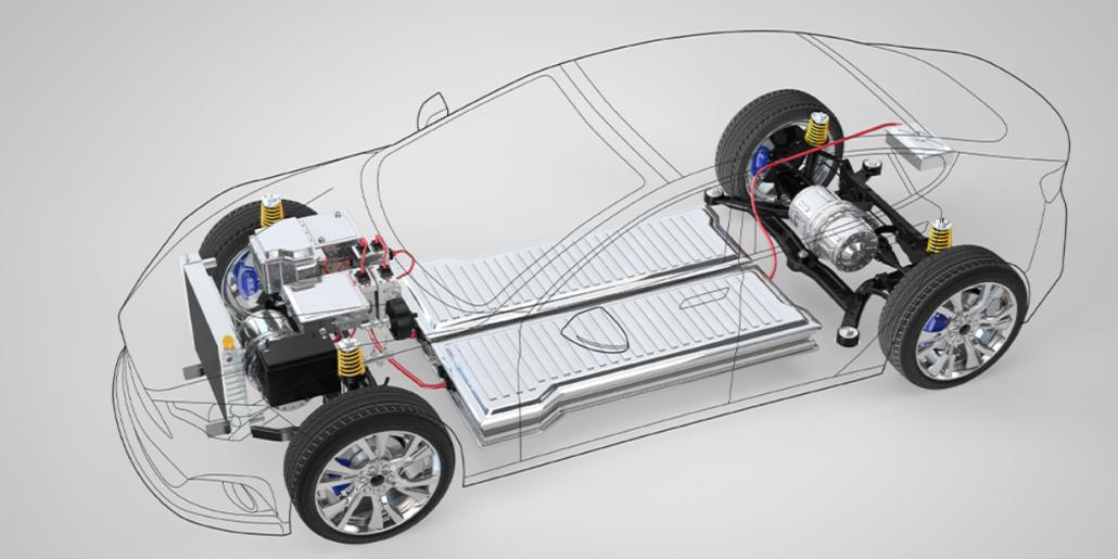 Μπαταρία σε ηλεκτρικό αυτοκίνητο