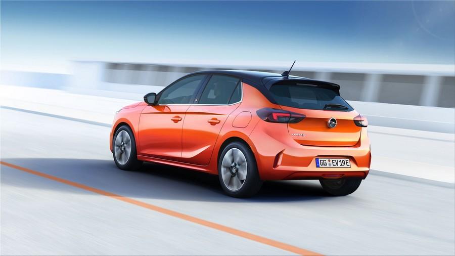 Opel Corsa-e electric car