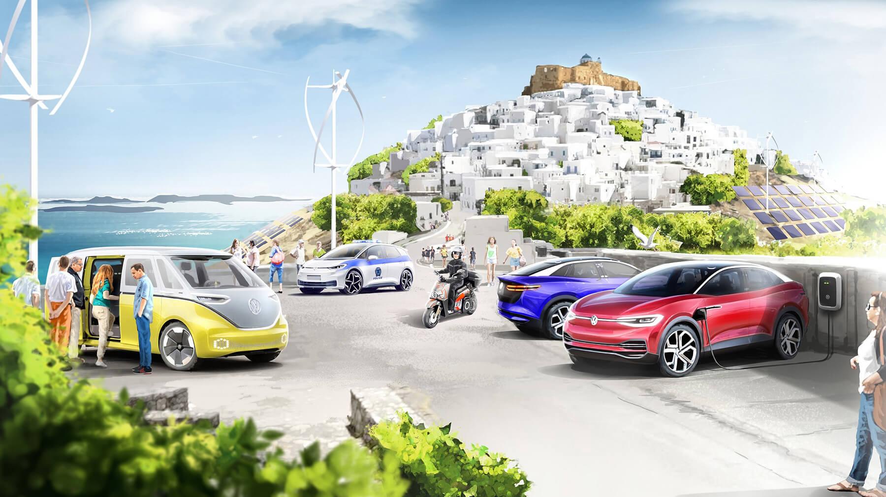 """H """"πράσινη"""" επένδυση της VW στην Αστυπάλαια"""