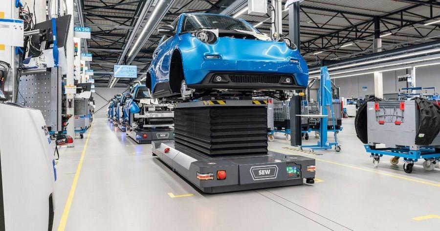 Εργοστάσιο ηλεκτρικών αυτοκινήτων