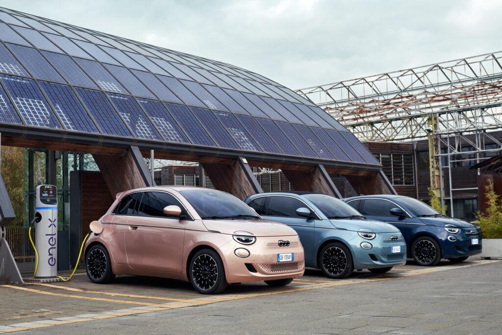 Η πλήρης γκάμα του ηλεκτρικού Fiat 500