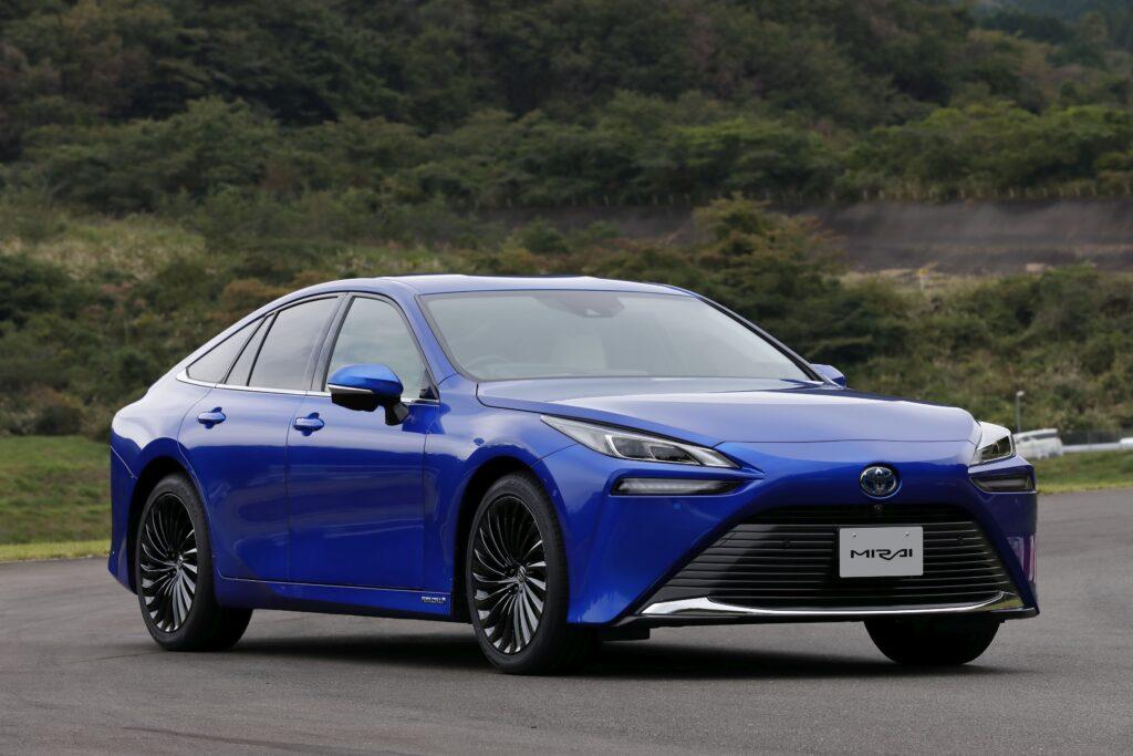 To υδρογονοκίνητο Toyota Mirai