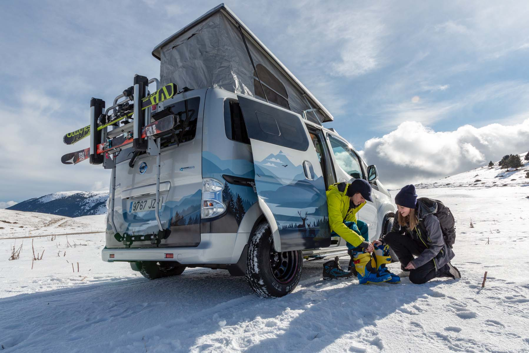 Nissan e-NV200 Winter Camper concept van