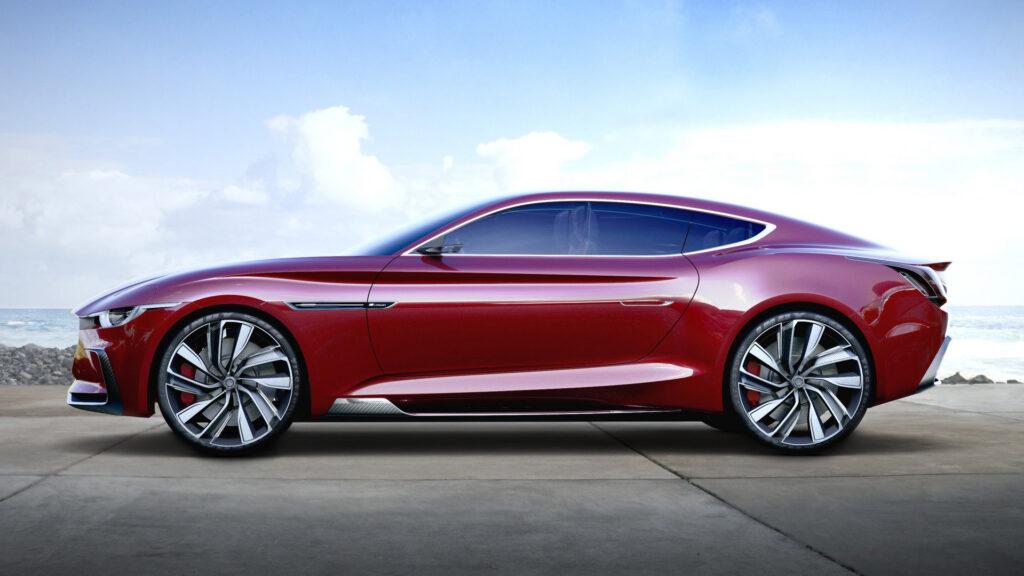 To concept Ε-Μotion, πάνω στο οποίο θα βασιστεί το ηλεκτρικό σπορ αυτοκίνητο της MG