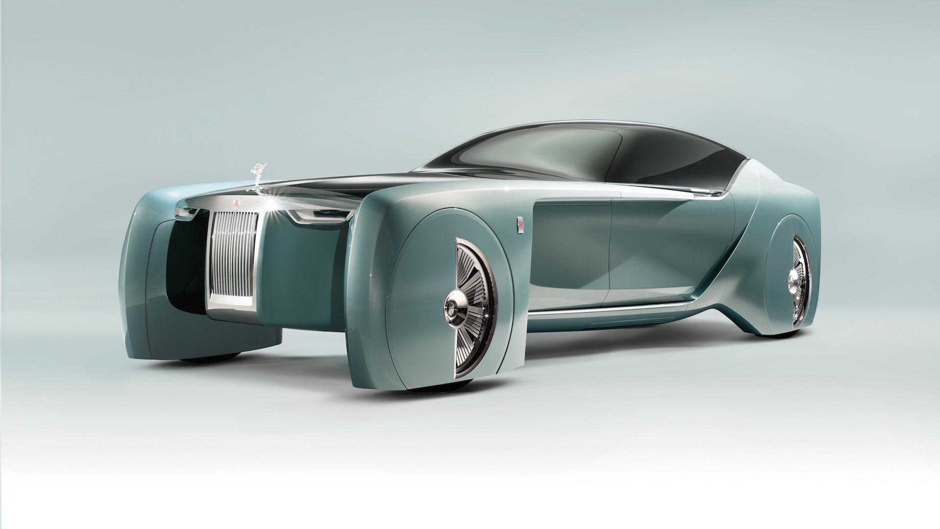Το ηλεκτρικό πρωτότυπο Phantom της Rolls-Royce