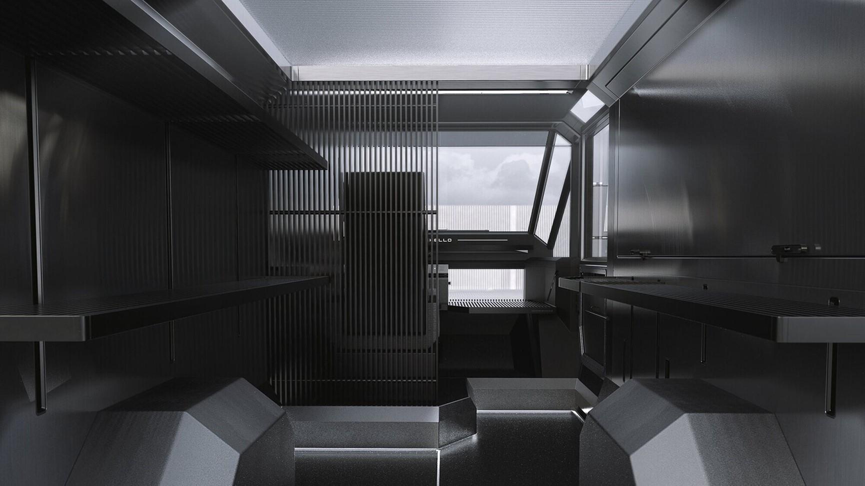 Το εσωτερικό του οχήματος