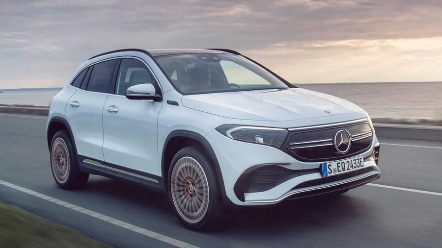 H νέα Mercedes-Benz EQA