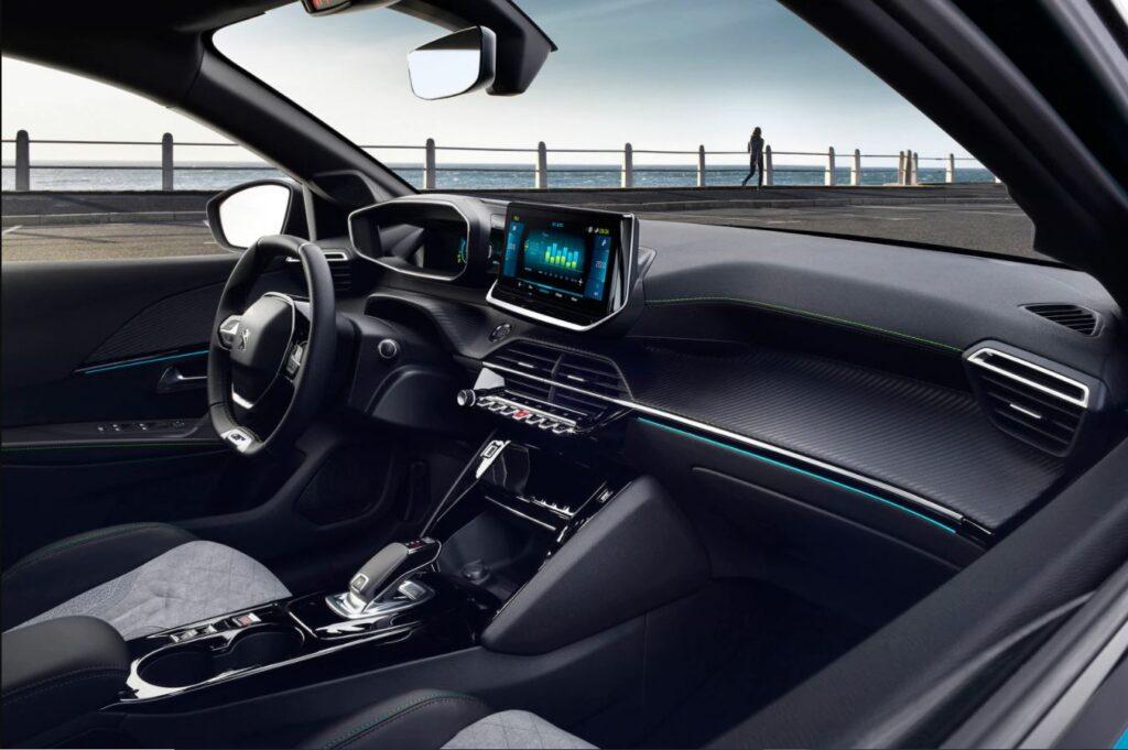 Εσωτερικό του Peugeot e-208