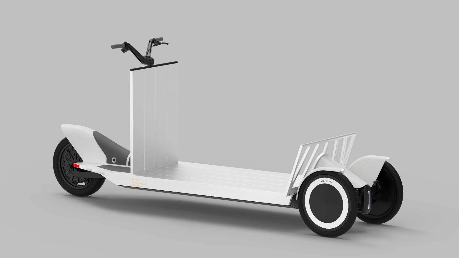 Ηλεκτρικό Scooter Polestar