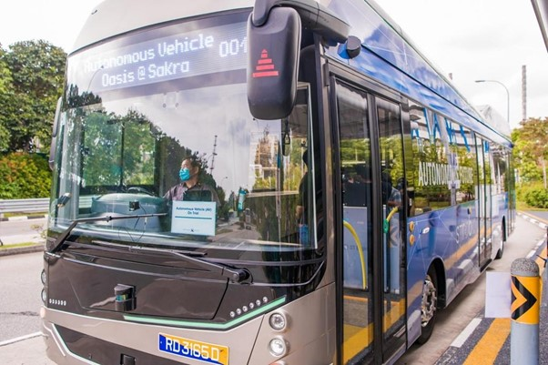 Λεωφορείο στη Σιγκαπούρη