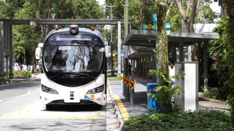 Λεωφορεία στη Σιγκαπούρη