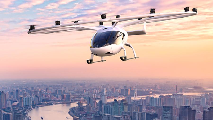 Ιπτάμενο ηλεκτρικό ταξί