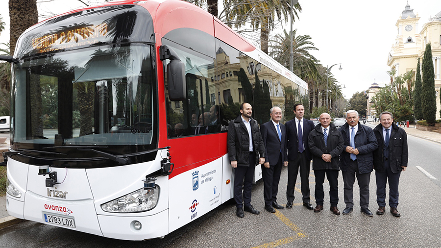 Ηλεκτρικό λεωφορείο στην Ισπανία