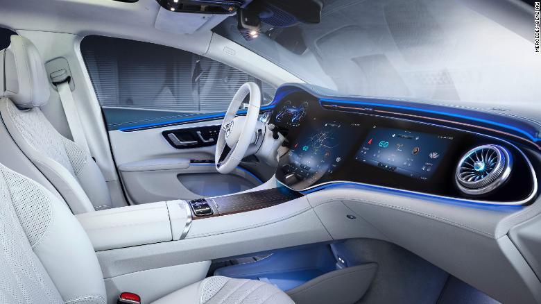 Οθόνη στο Mercedes EQS