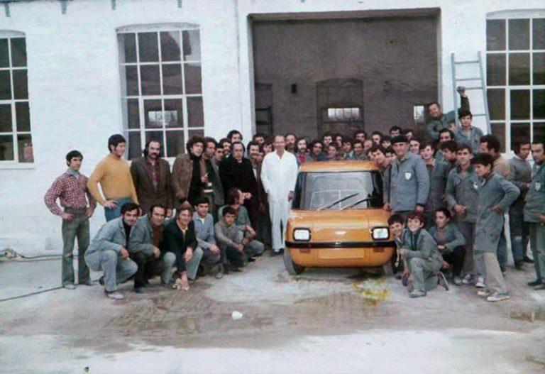 Enfield 8000: Το πρώτο ηλεκτρικό αυτοκίνητο στην Ελλάδα