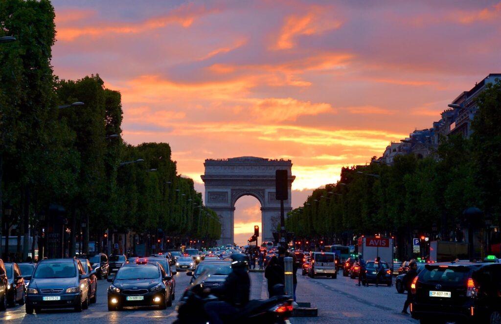 Οι δρόμοι του Παρισιού