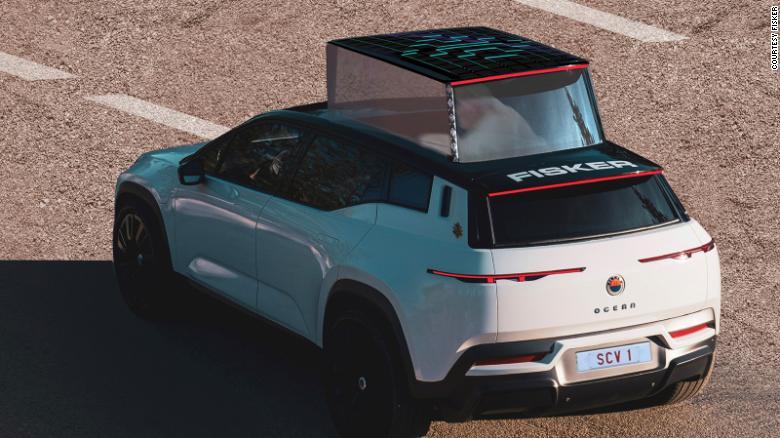 Η Fisker δημιουργεί ηλεκτρικό αυτοκίνητο για τον Παπά Φραγκίσκο