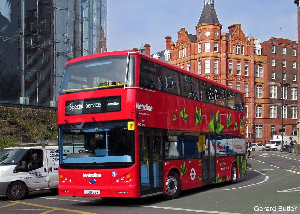 Το πρώτο λεωφορείο του Λονδίνου