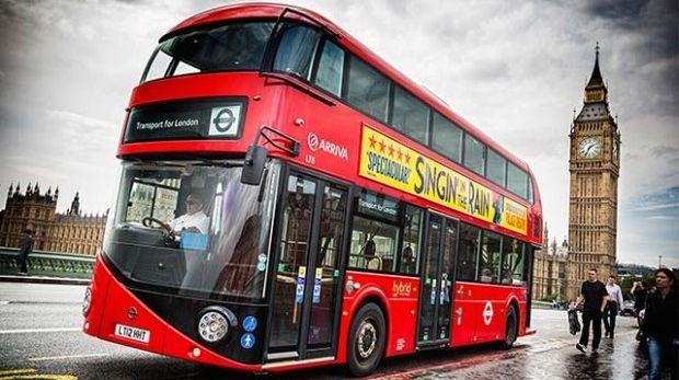 Τα κόκκινα λεωφορεία του Λονδίνου σε ηλεκτρική έκδοση