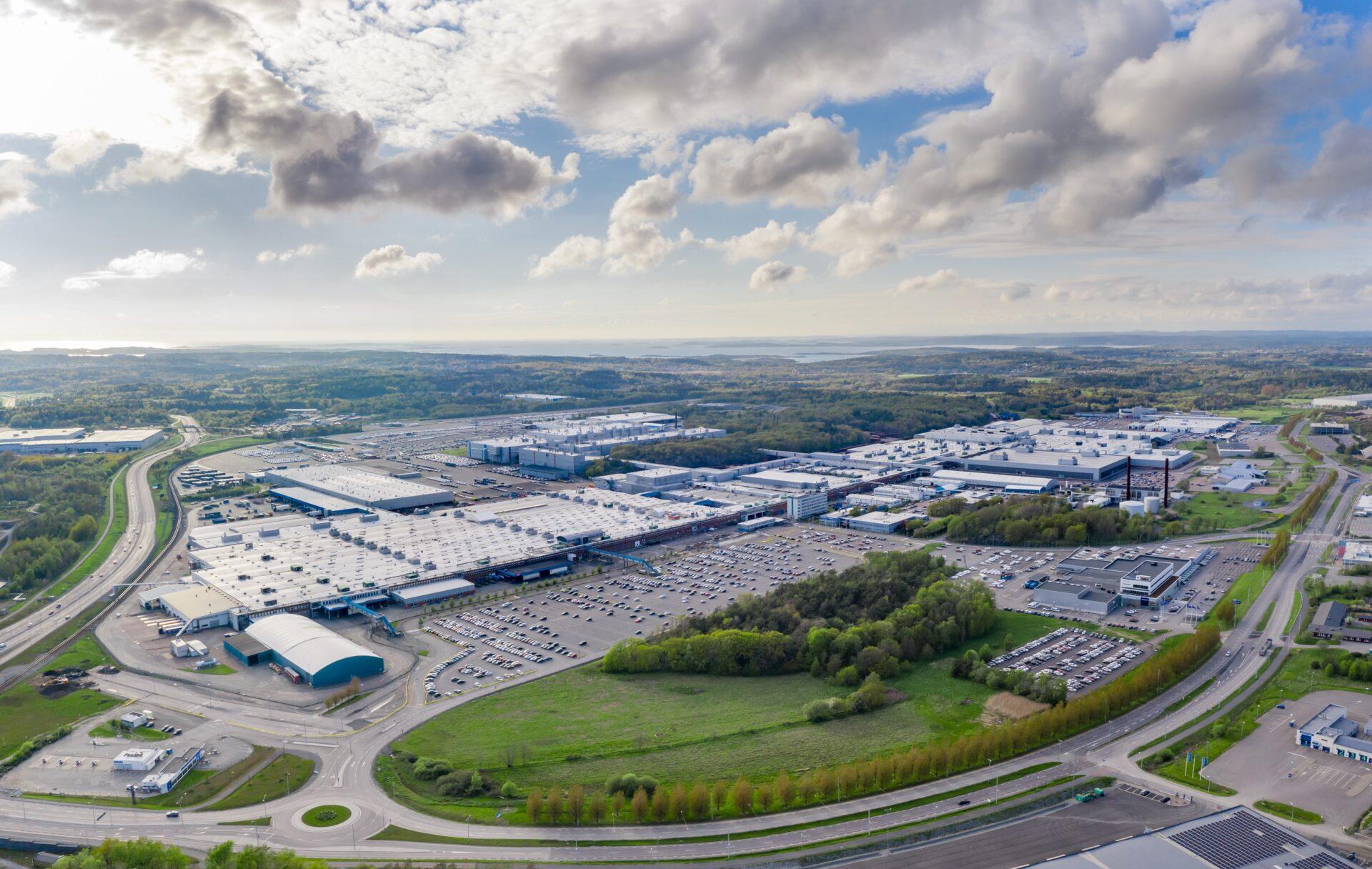 Volvo Cars Torslanda becomes company's first climate neutral car plant