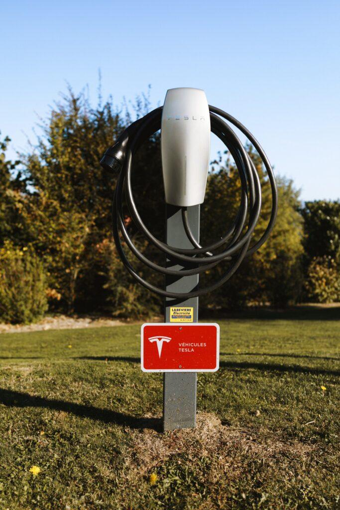 Τesla charging station
