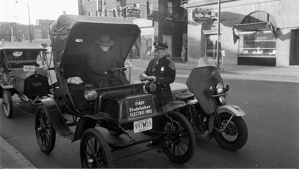 Studebaker Electric Car - 1902-1912