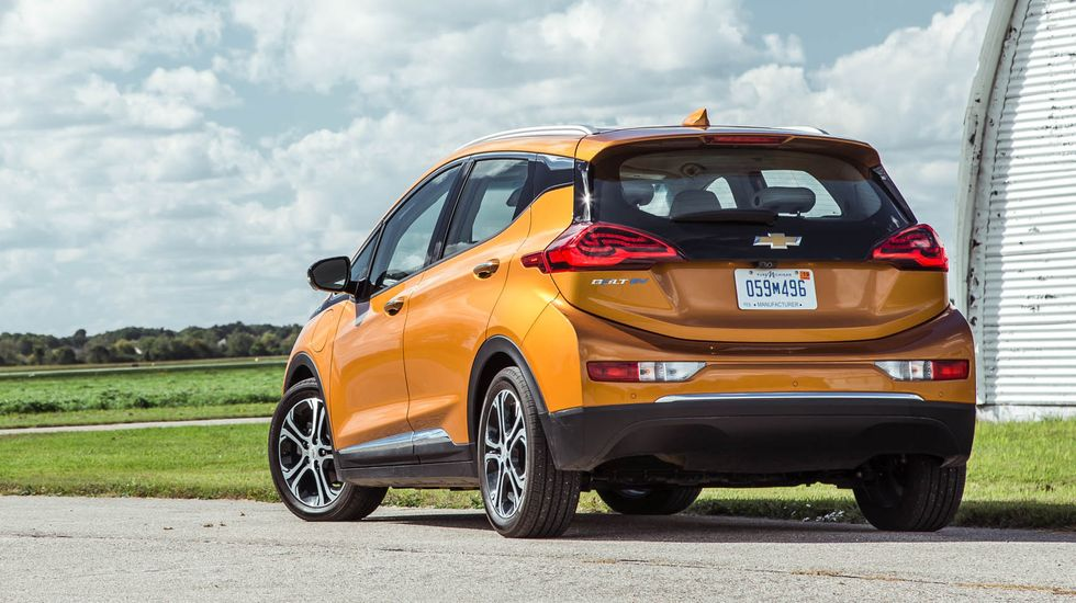 Chevrolet Bolt EV - 2017-Present