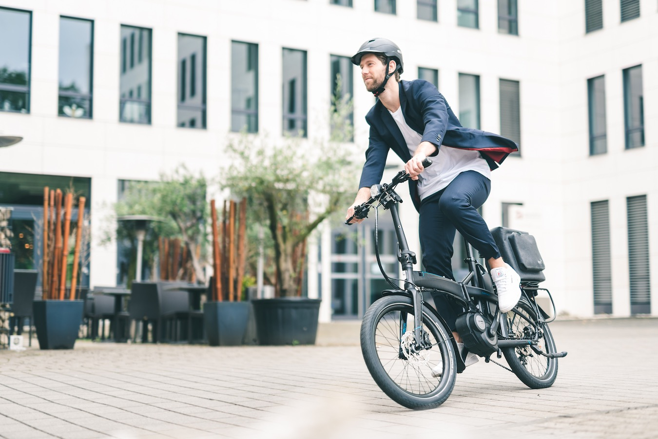 E bike driver