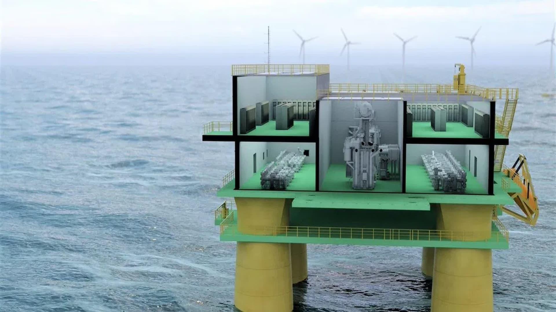 Floating wind energy