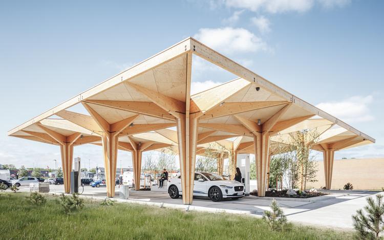 Charging station design