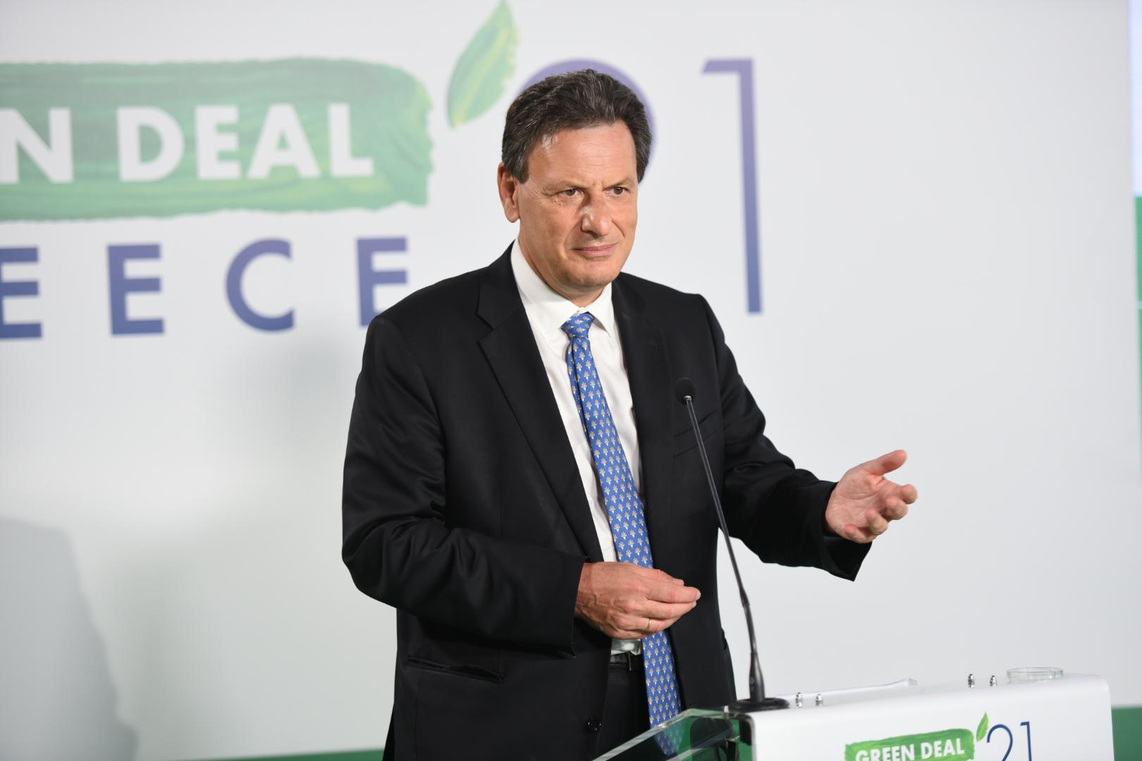 Ο αναπληρωτής υπουργός Οικονομικών Θόδωρος Σκυλακάκης