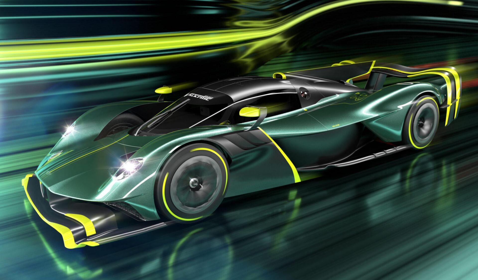 Η Aston Martin Valkyrie AMR Pro