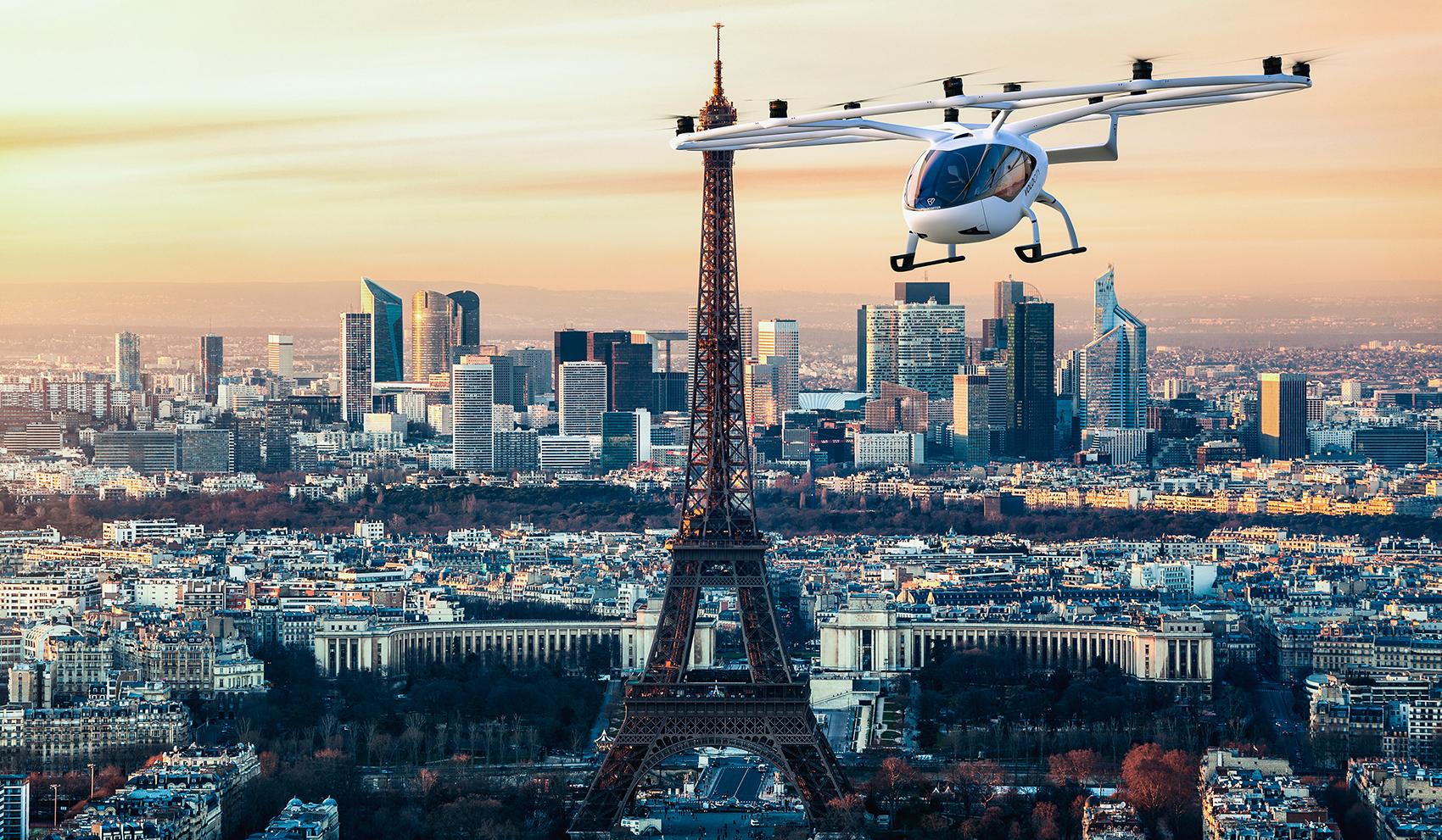 Volocopter Paris 1