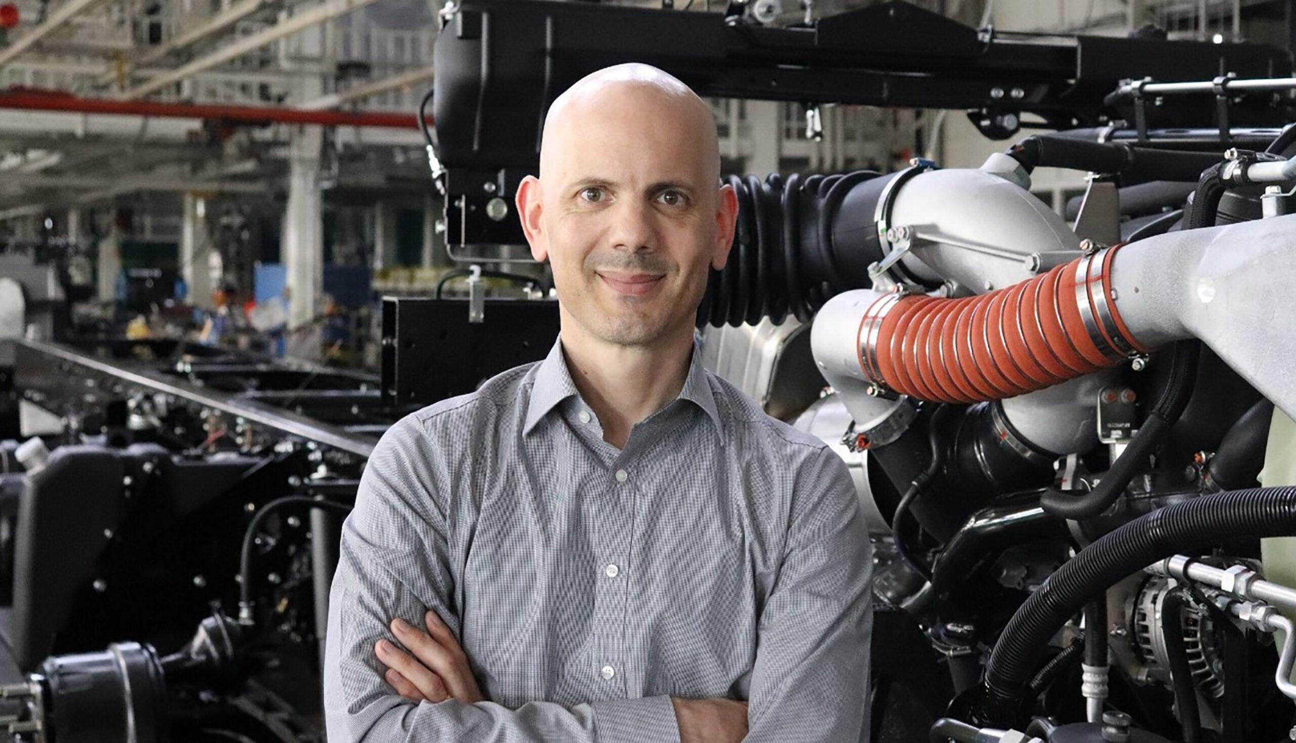 Sven Gräble, Head of Mercedes-Benz Trucks Operations