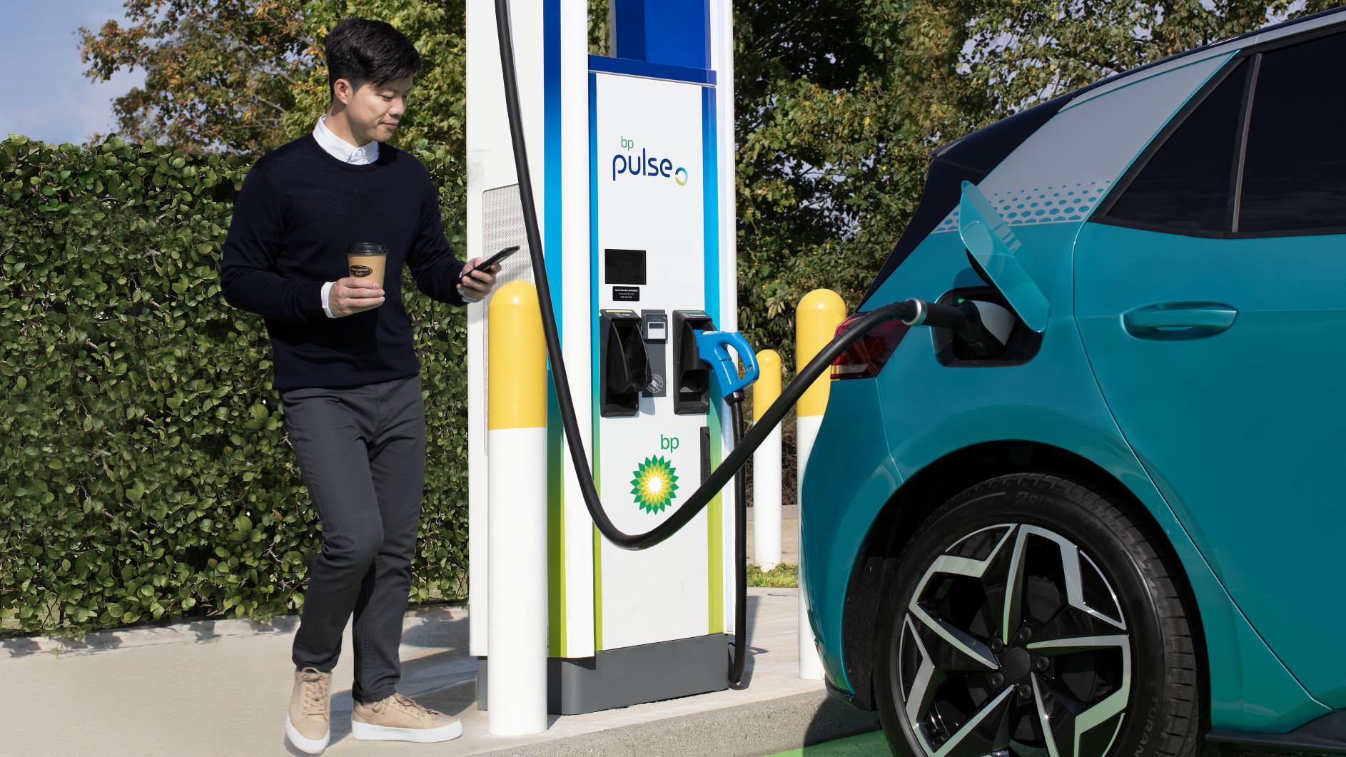 BP charging station