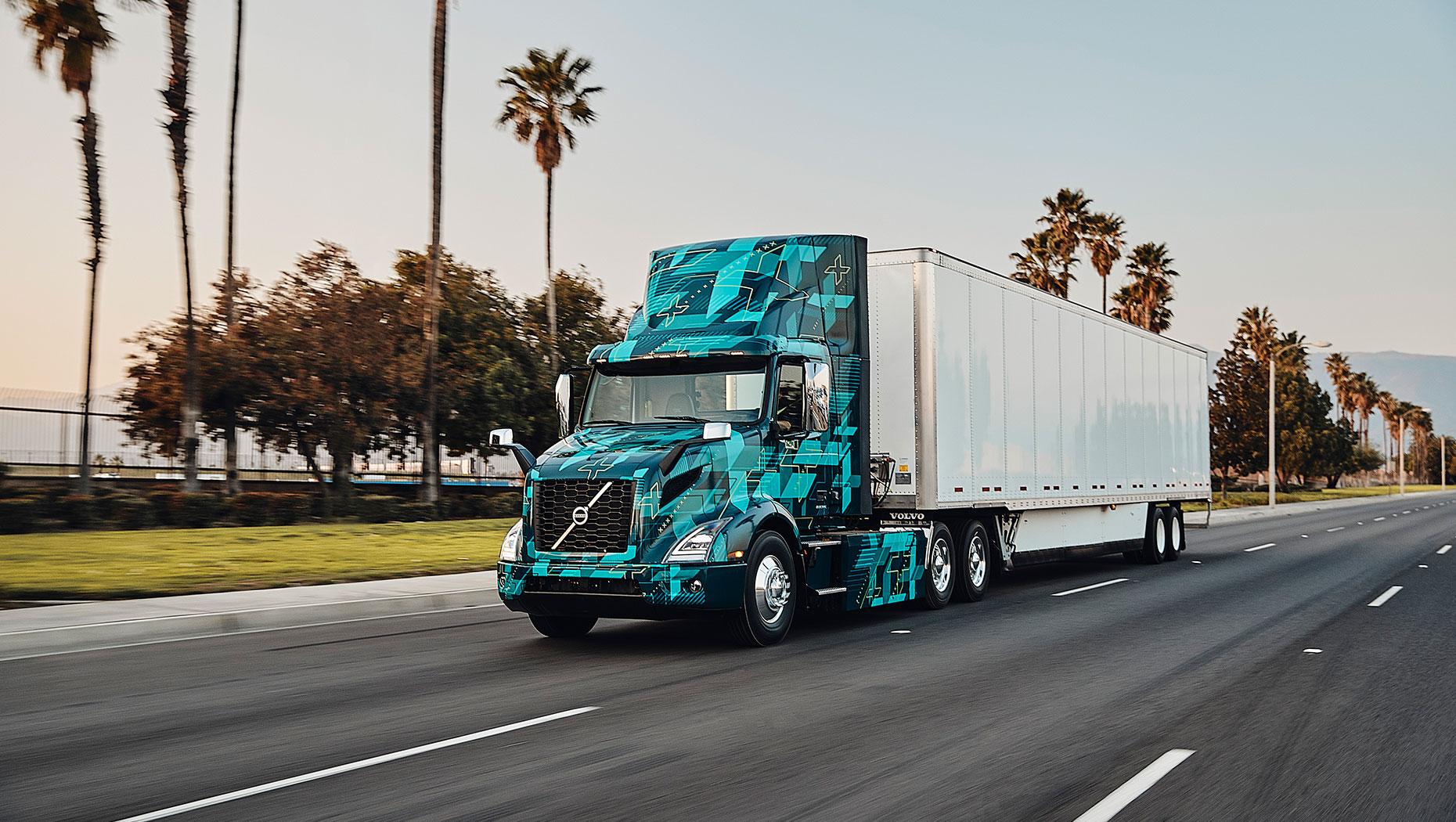 Volvo e truck
