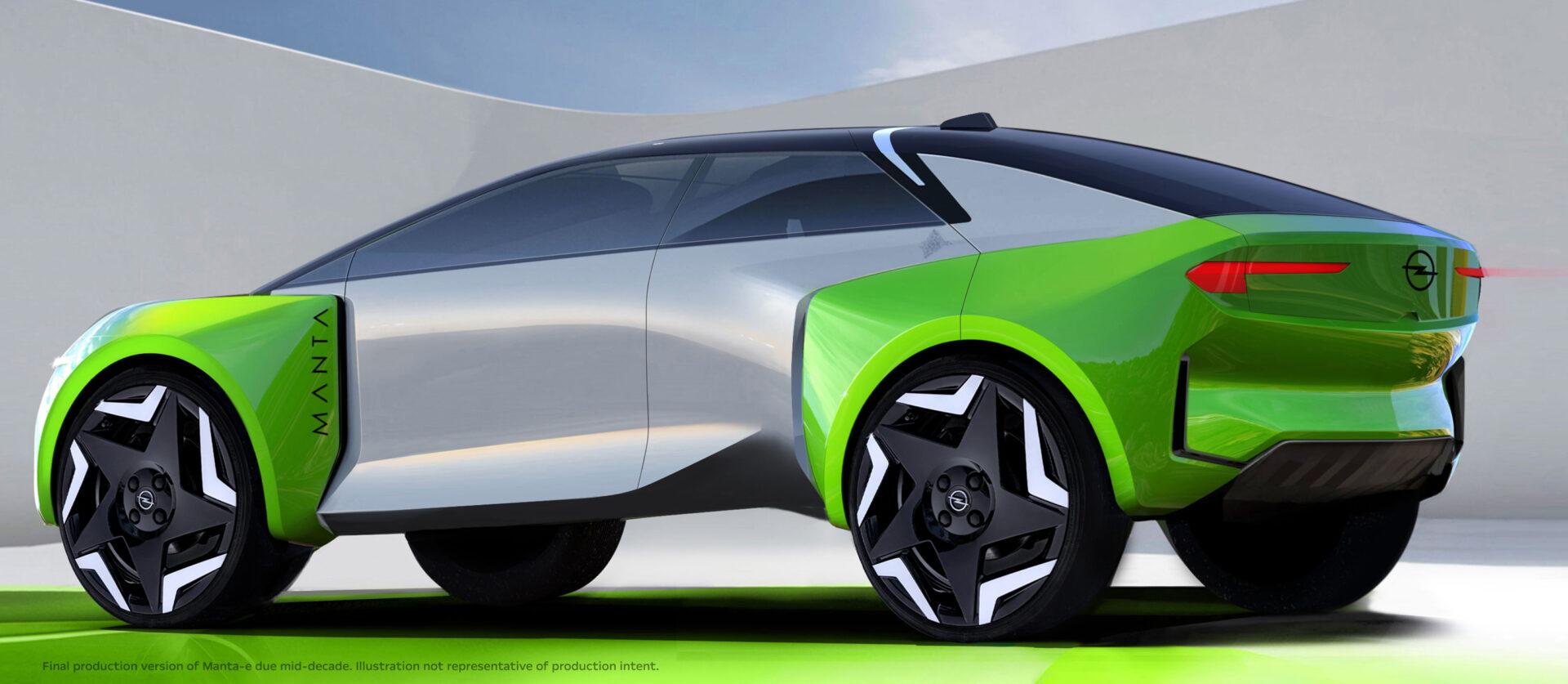Opel Electric Car