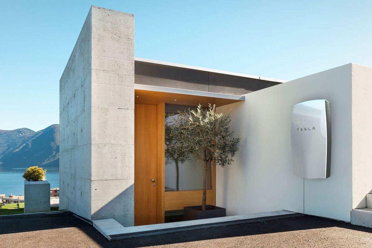 Tesla Charging Station & Energy House