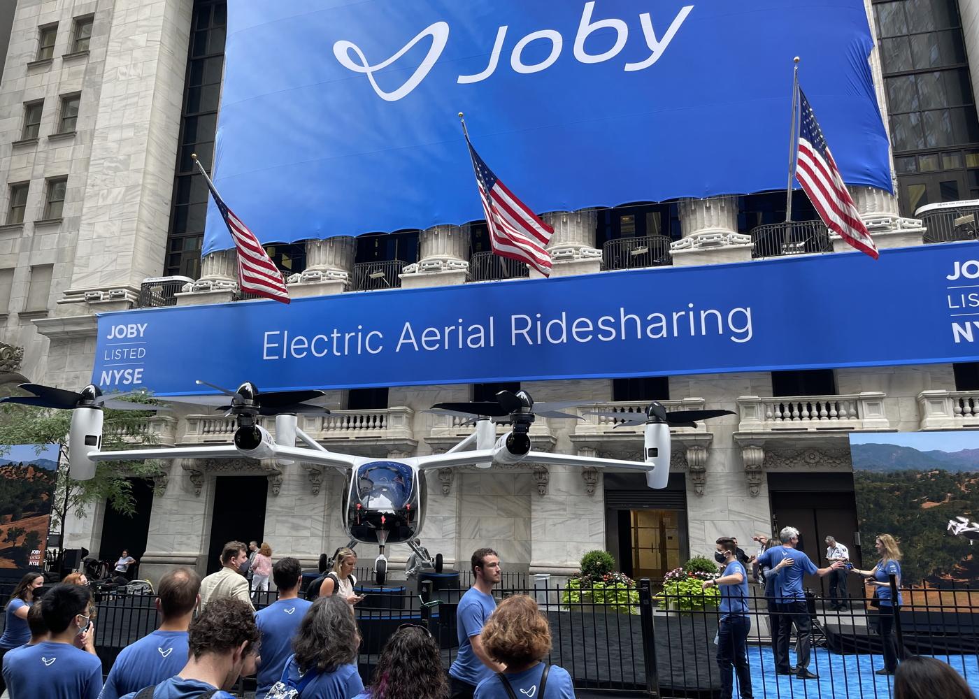 Ο Joby δείχνει το ηλεκτρικό του ταξί στη Νέα Υόρκη