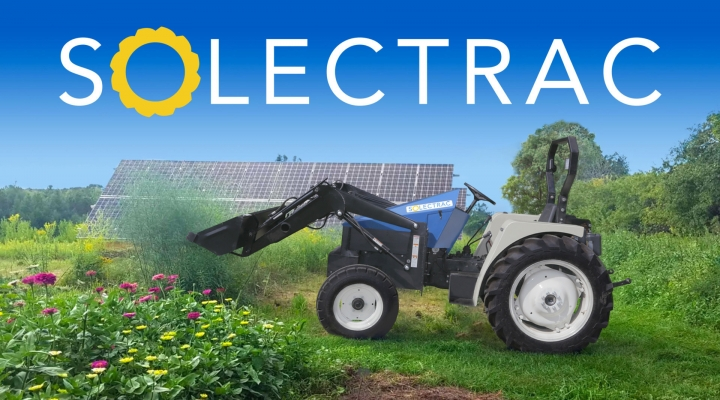 ηλεκτρικό τρακτέρ Solectrac