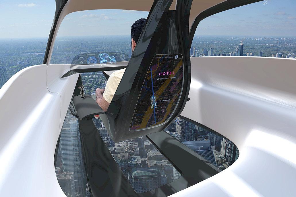 LEO's floating pilot's seat