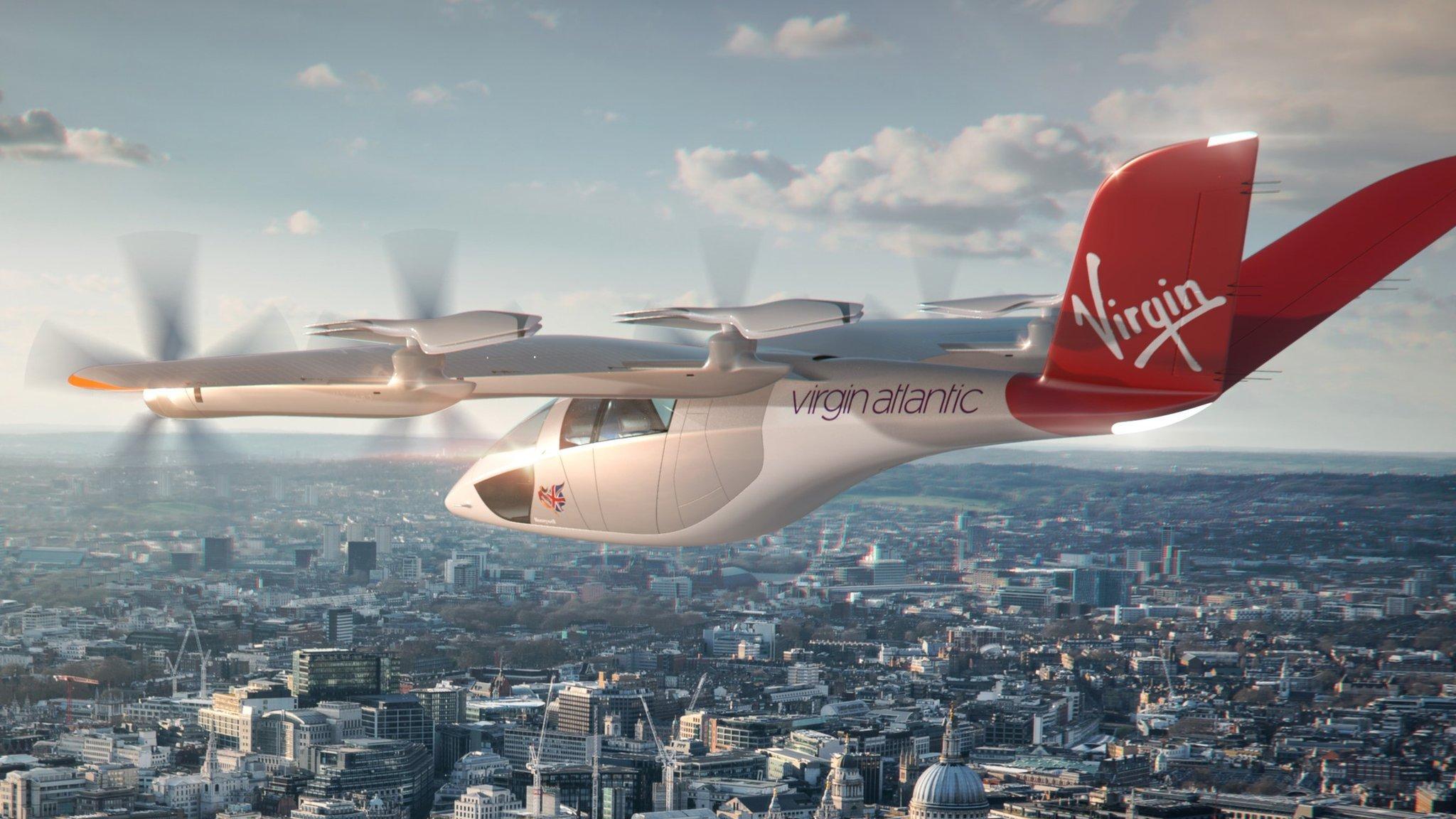 Η Virgin Atlantic της Azul Airlines της Βραζιλίας σχεδιάζει να πραγματοοιήσει αγορά eVTOL