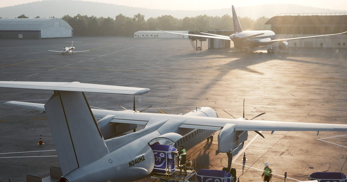 Hydrogen Aviation Center at Moses Lake, Washington