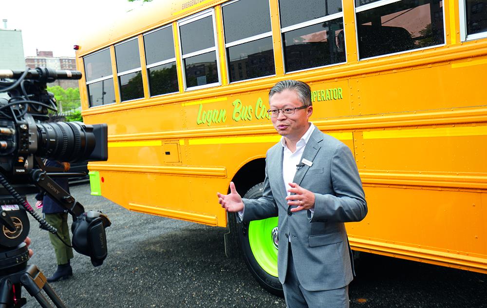 Διευθύνων Σύμβουλος της AMPLY Power, Vic Shao