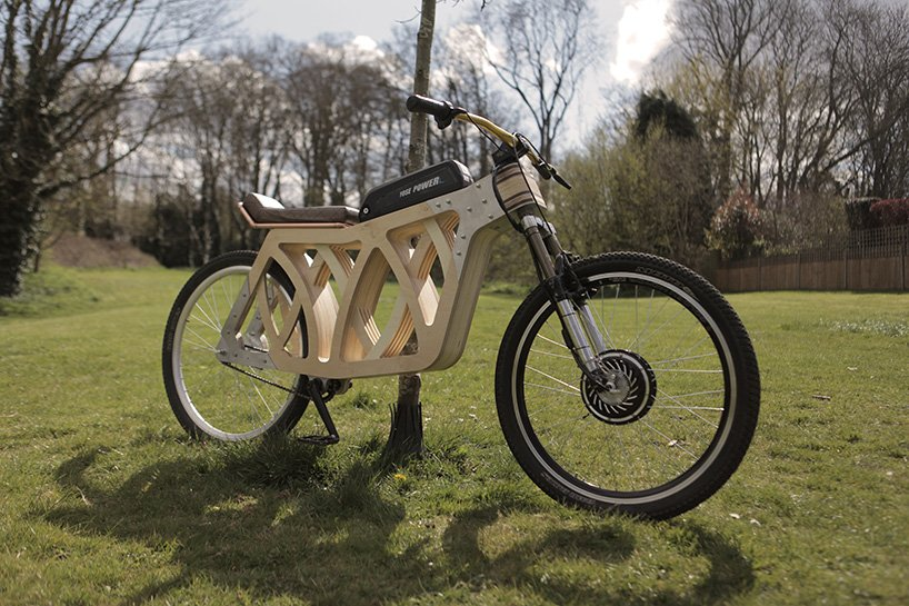 electraply is a wooden e-bike